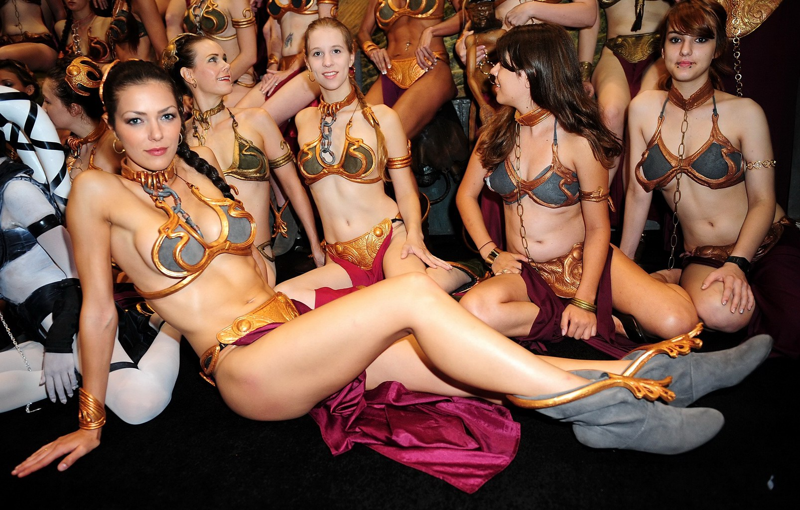 Hot nude star wars cosplay porn movie