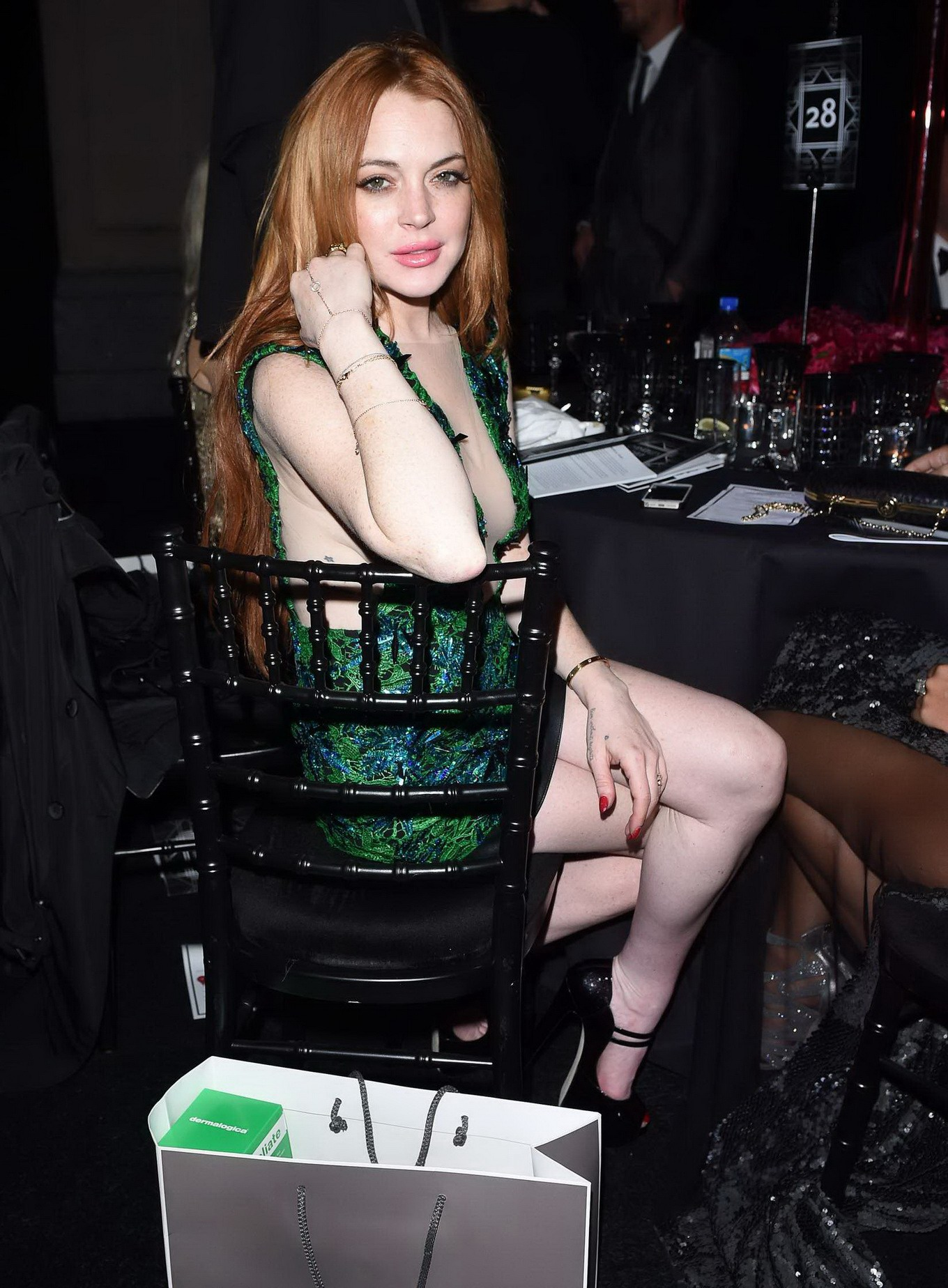 Lindsay lohan hot red carpet pictures, photos, images pics